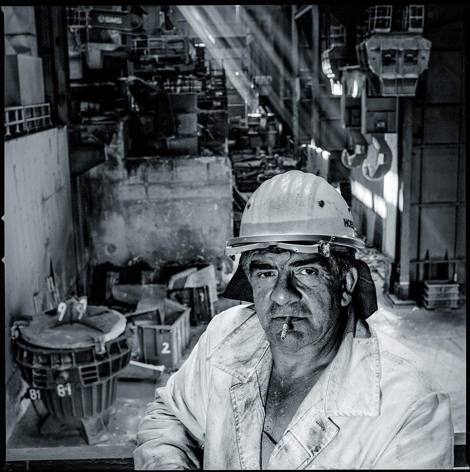 """Christian Koch: """"Industriearbeiter"""""""