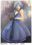 Holzfrauen-Blue-Gothic